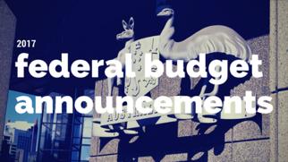 2017-2018 Federal Budget Update